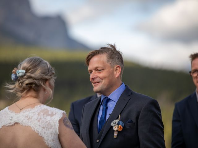 Gregg and Kristina's wedding in Canmore, Alberta 35