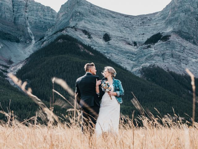 Gregg and Kristina's wedding in Canmore, Alberta 2
