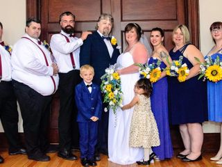The wedding of April  and Bradley 2