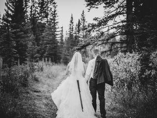 The wedding of Paul and Stephanie