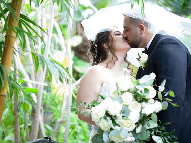 The wedding of Francesca and Anthony