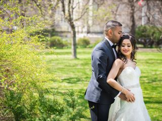 The wedding of Leanne and Niro