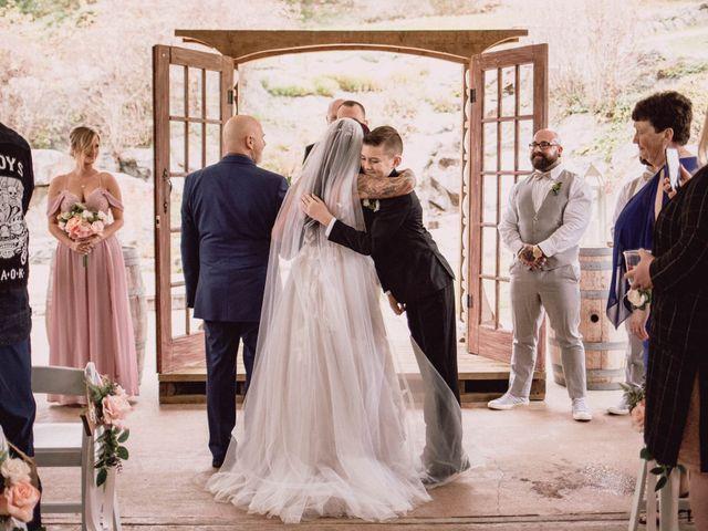 Rob and Alyssha's wedding in Vancouver Island, British Columbia 15