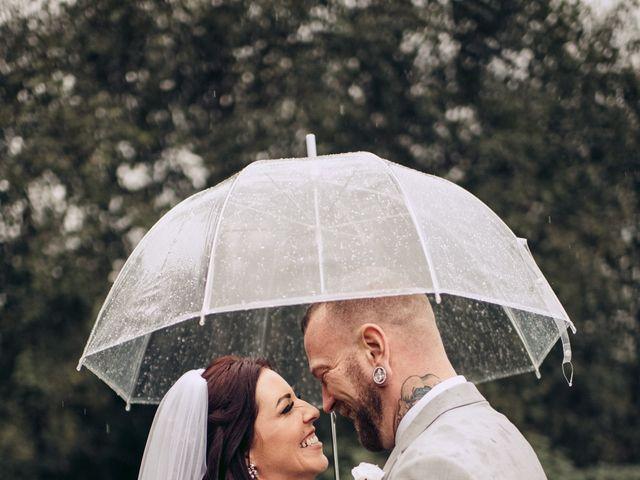 Rob and Alyssha's wedding in Vancouver Island, British Columbia 1
