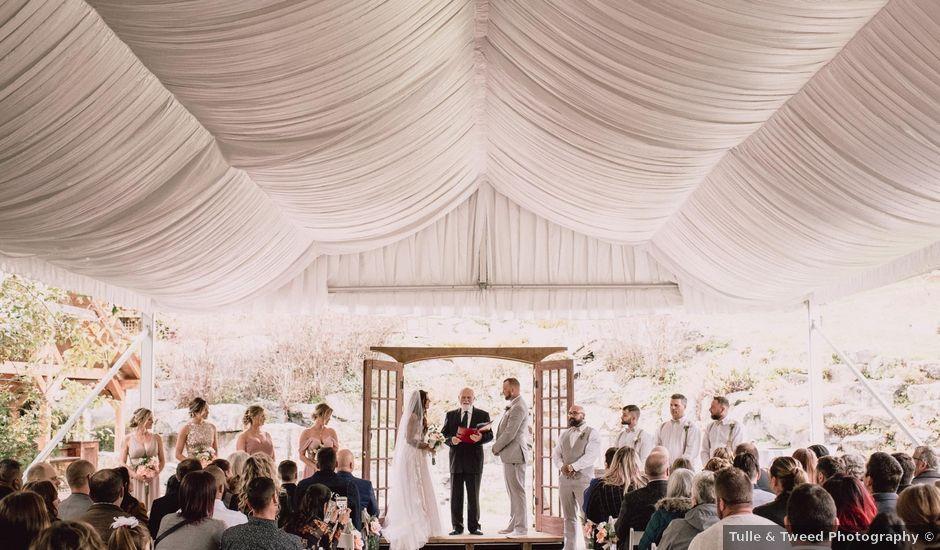 Rob and Alyssha's wedding in Vancouver Island, British Columbia