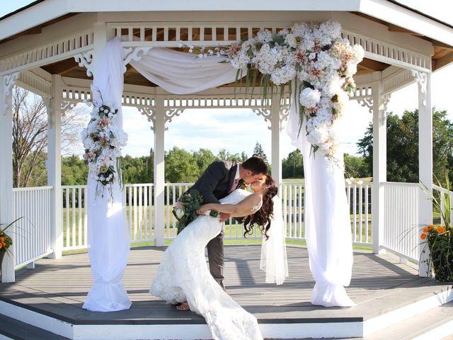 The wedding of Kayla and Jesse
