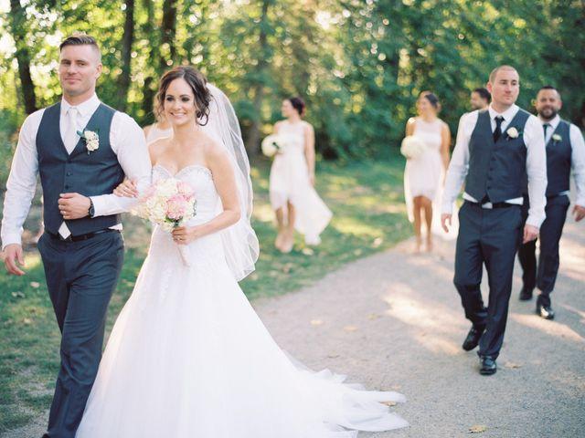 The wedding of Stephanie and Kieran