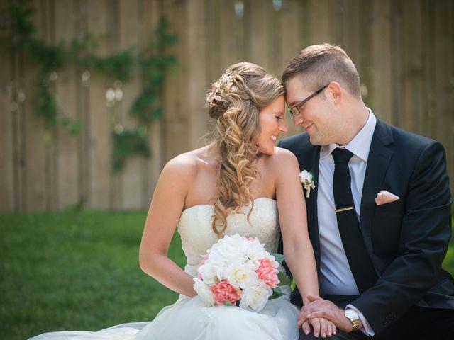 The wedding of Charlene and Eric
