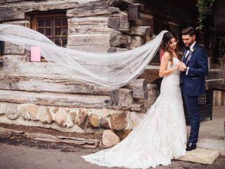 The wedding of Melanie and Brady