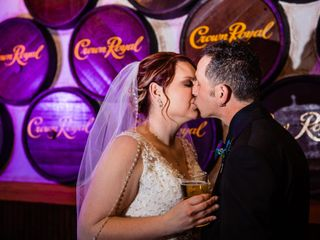 The wedding of Trena and Danny