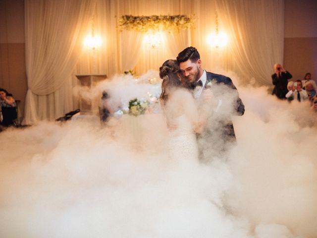 Brady and Melanie's wedding in St Marys, Ontario 1