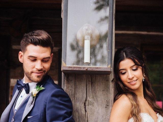 Brady and Melanie's wedding in St Marys, Ontario 8