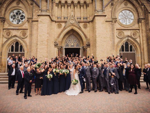 Brady and Melanie's wedding in St Marys, Ontario 9