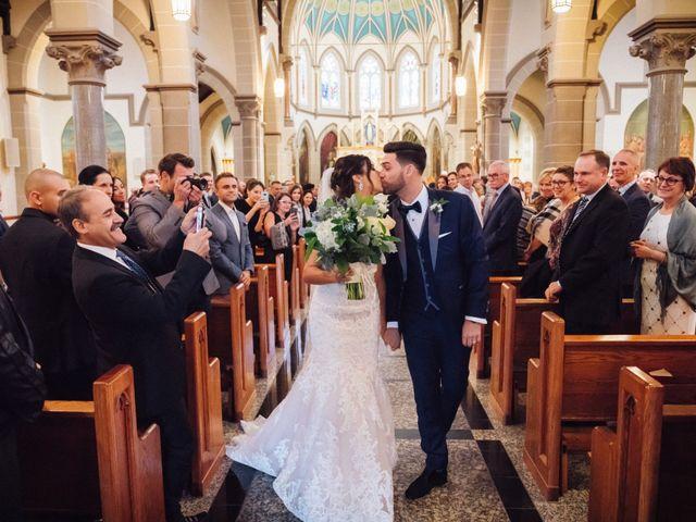 Brady and Melanie's wedding in St Marys, Ontario 10