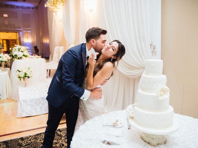 Brady and Melanie's wedding in St Marys, Ontario 12