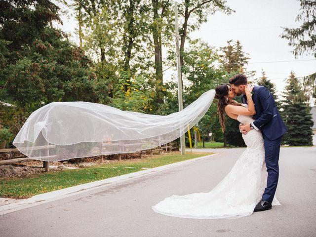 Brady and Melanie's wedding in St Marys, Ontario 14