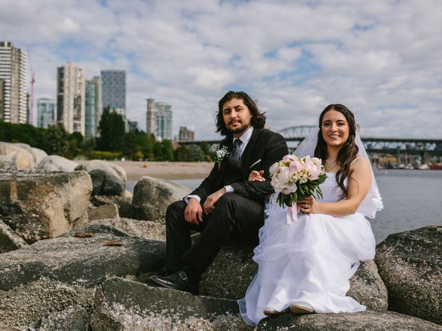 Moatez and Luz's wedding in Vancouver, British Columbia 20