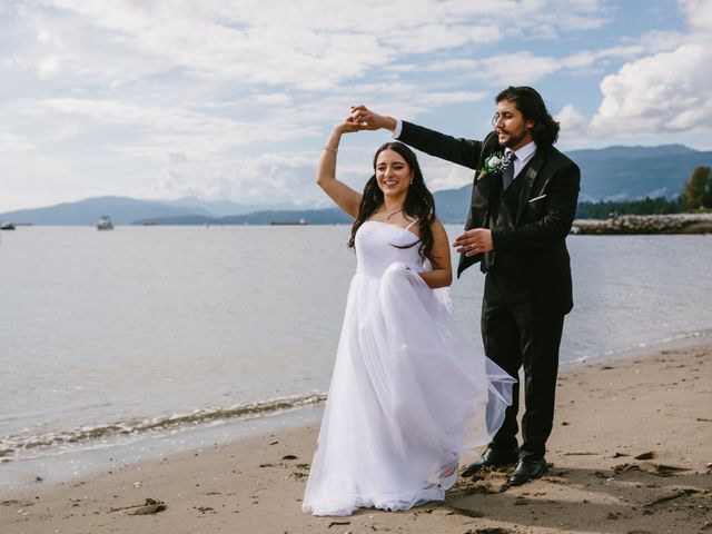 Moatez and Luz's wedding in Vancouver, British Columbia 21