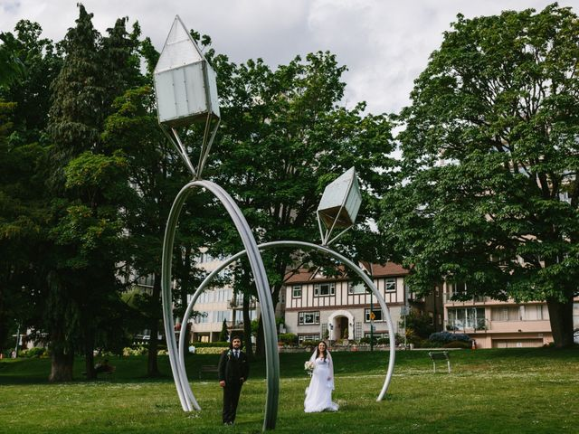 Moatez and Luz's wedding in Vancouver, British Columbia 23