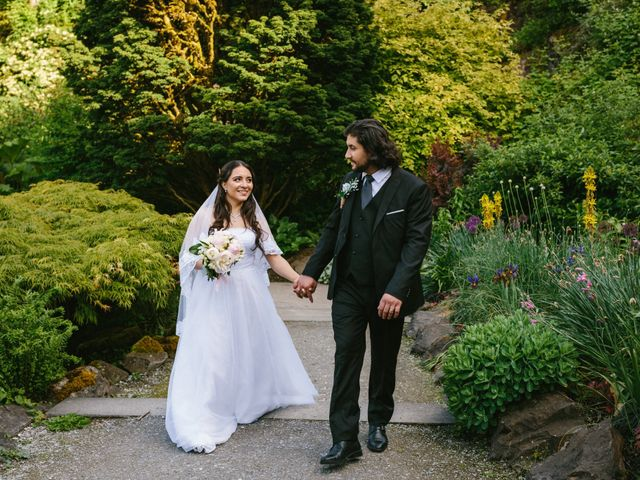 Moatez and Luz's wedding in Vancouver, British Columbia 25
