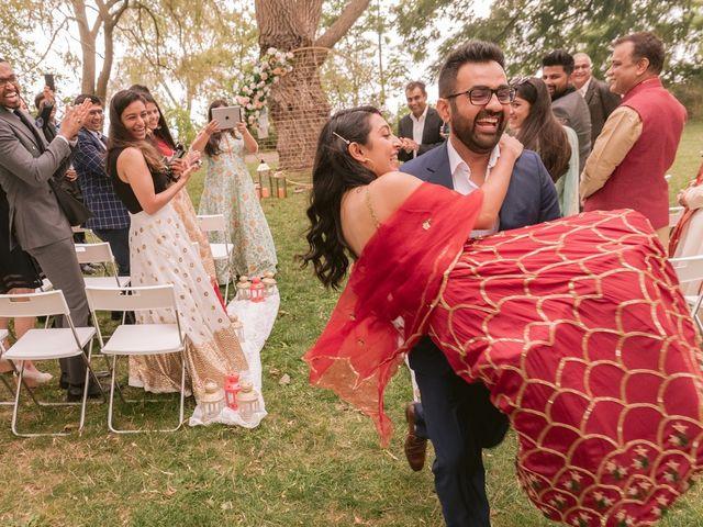 The wedding of Badal and Hemanji