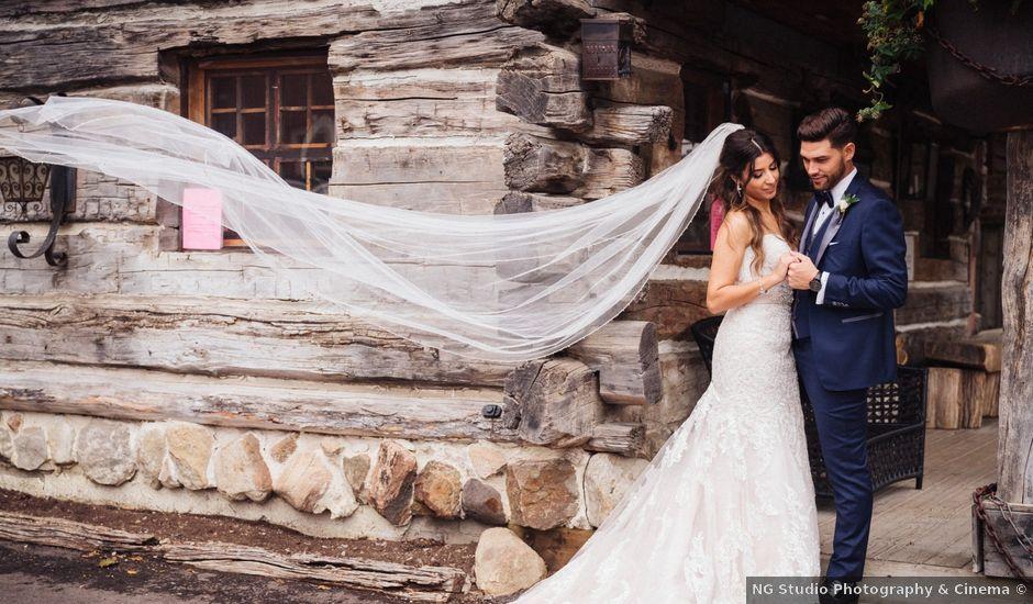 Brady and Melanie's wedding in St Marys, Ontario