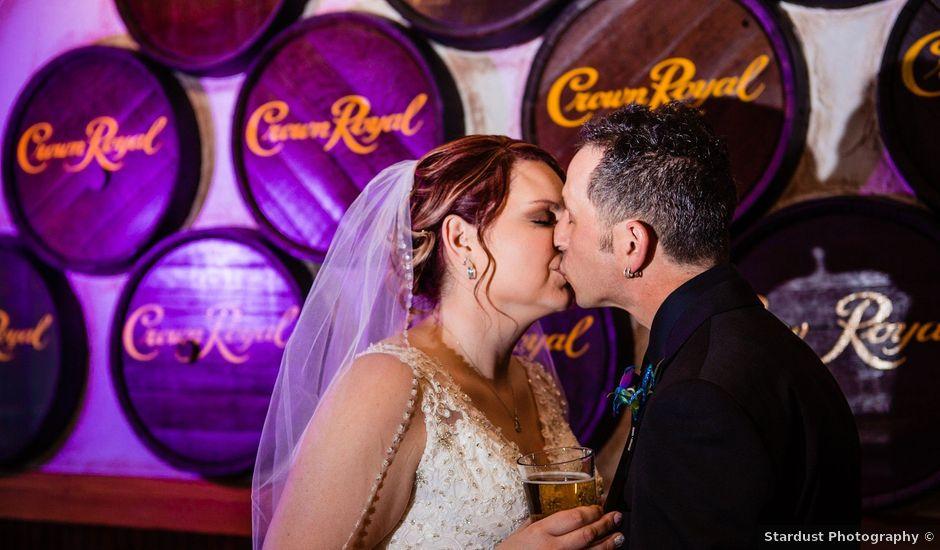 Danny and Trena's wedding in Winnipeg, Manitoba