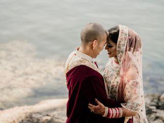 The wedding of Darren and Ashlyn