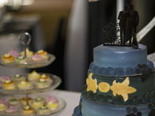 The wedding of Vinod and Wayne 1