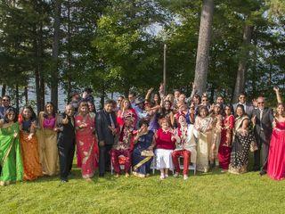 The wedding of Vinod and Wayne 2