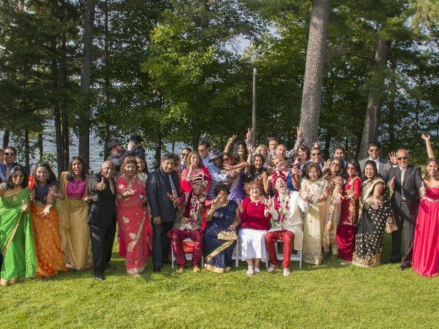 Wayne and Vinod's wedding in Innisfil, Ontario 2
