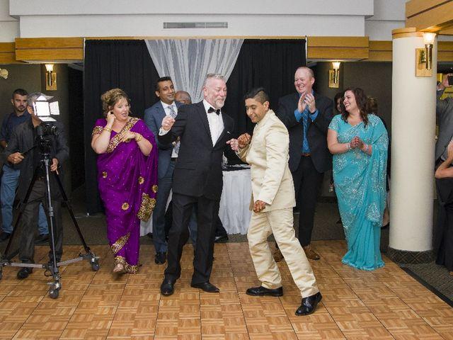 Wayne and Vinod's wedding in Innisfil, Ontario 6