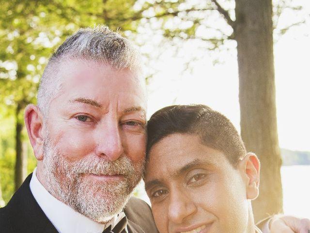 Wayne and Vinod's wedding in Innisfil, Ontario 7