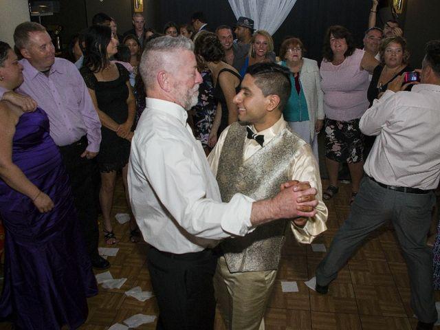 Wayne and Vinod's wedding in Innisfil, Ontario 8