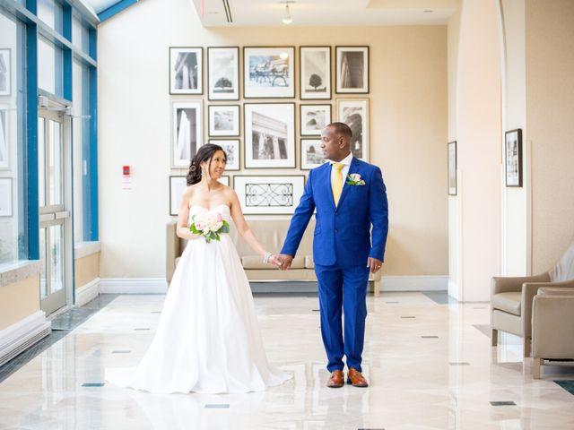 The wedding of Jocelyne and Skinder