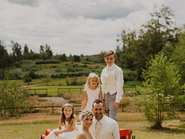 Mike and Becky's wedding in Aldergrove, British Columbia 1