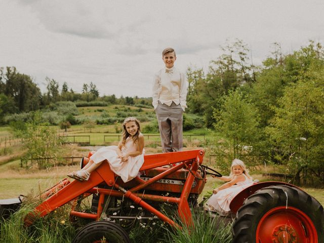Mike and Becky's wedding in Aldergrove, British Columbia 2