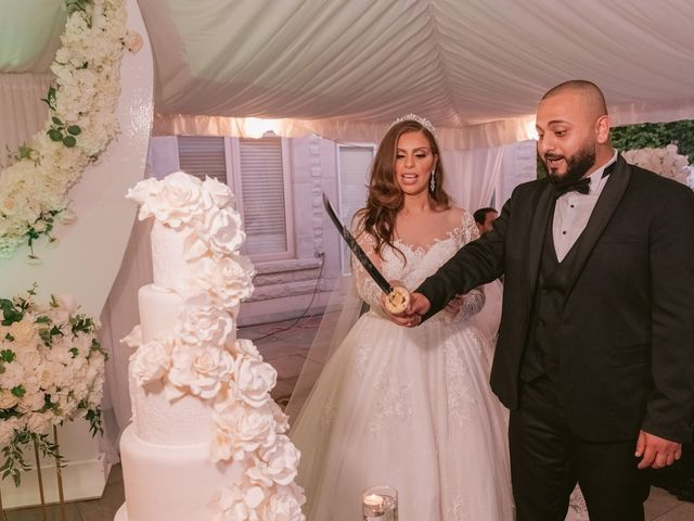 The wedding of Mahmoud and Rawan