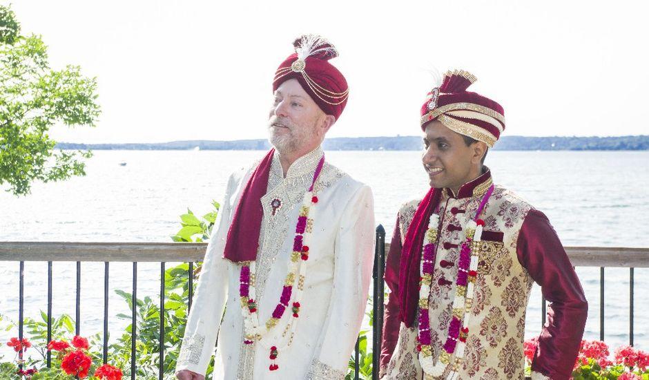 Wayne and Vinod's wedding in Innisfil, Ontario