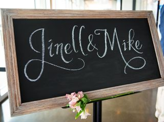 The wedding of Jinell and Mike 1