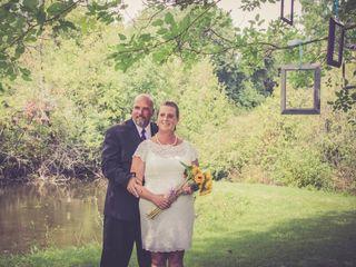 The wedding of Mandy and John
