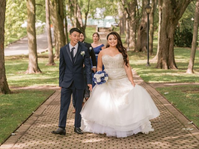 The wedding of Rebecca and Ryan