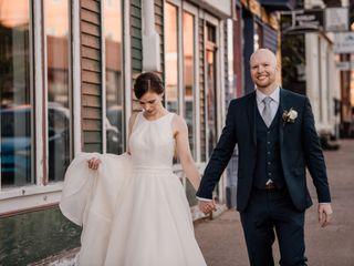 The wedding of Ryan and Catherine