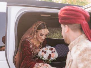 The wedding of Hamza and Zohra 3