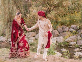 The wedding of Hamza and Zohra