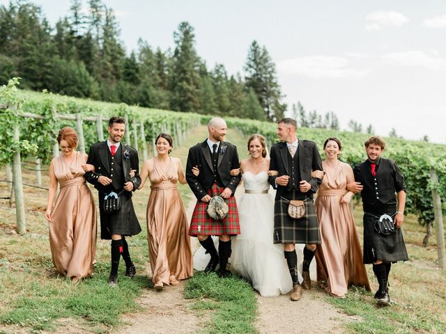 Cameron and Reagan's wedding in Lake Country, British Columbia 2