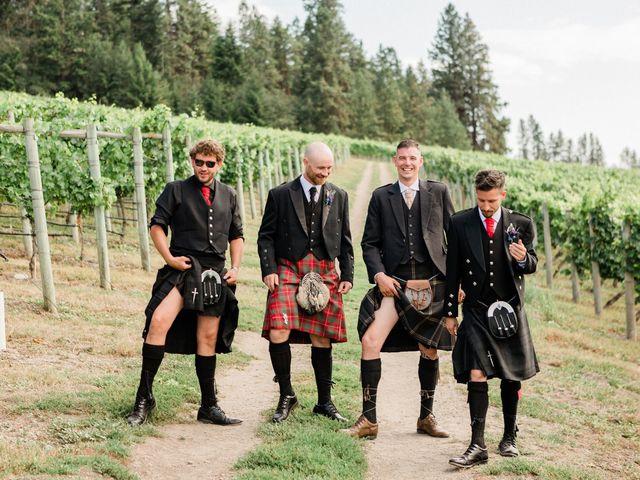 Cameron and Reagan's wedding in Lake Country, British Columbia 24