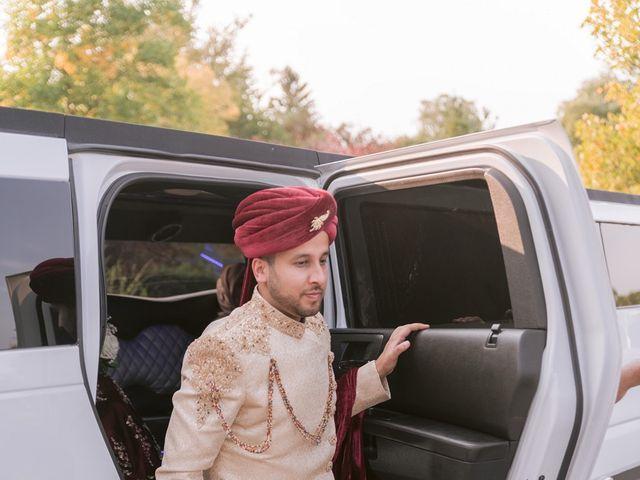 Zohra and Hamza's wedding in Markham, Ontario 4