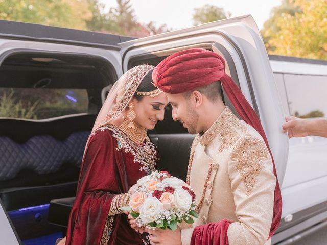 Zohra and Hamza's wedding in Markham, Ontario 6