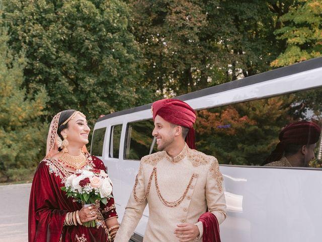 Zohra and Hamza's wedding in Markham, Ontario 7